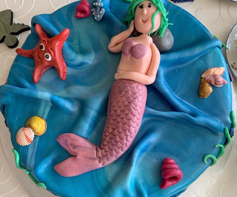 Meerjungfrauen Torte
