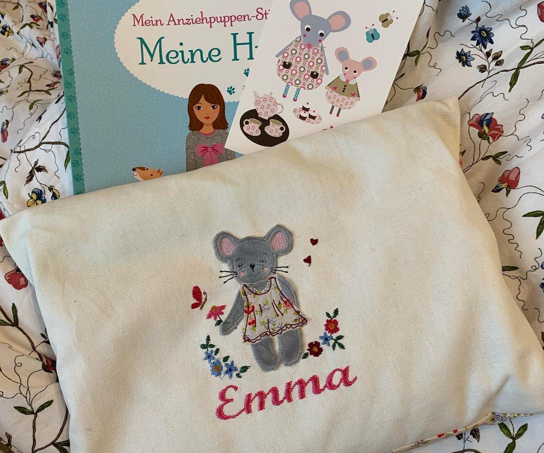 Kissen Emma Maus