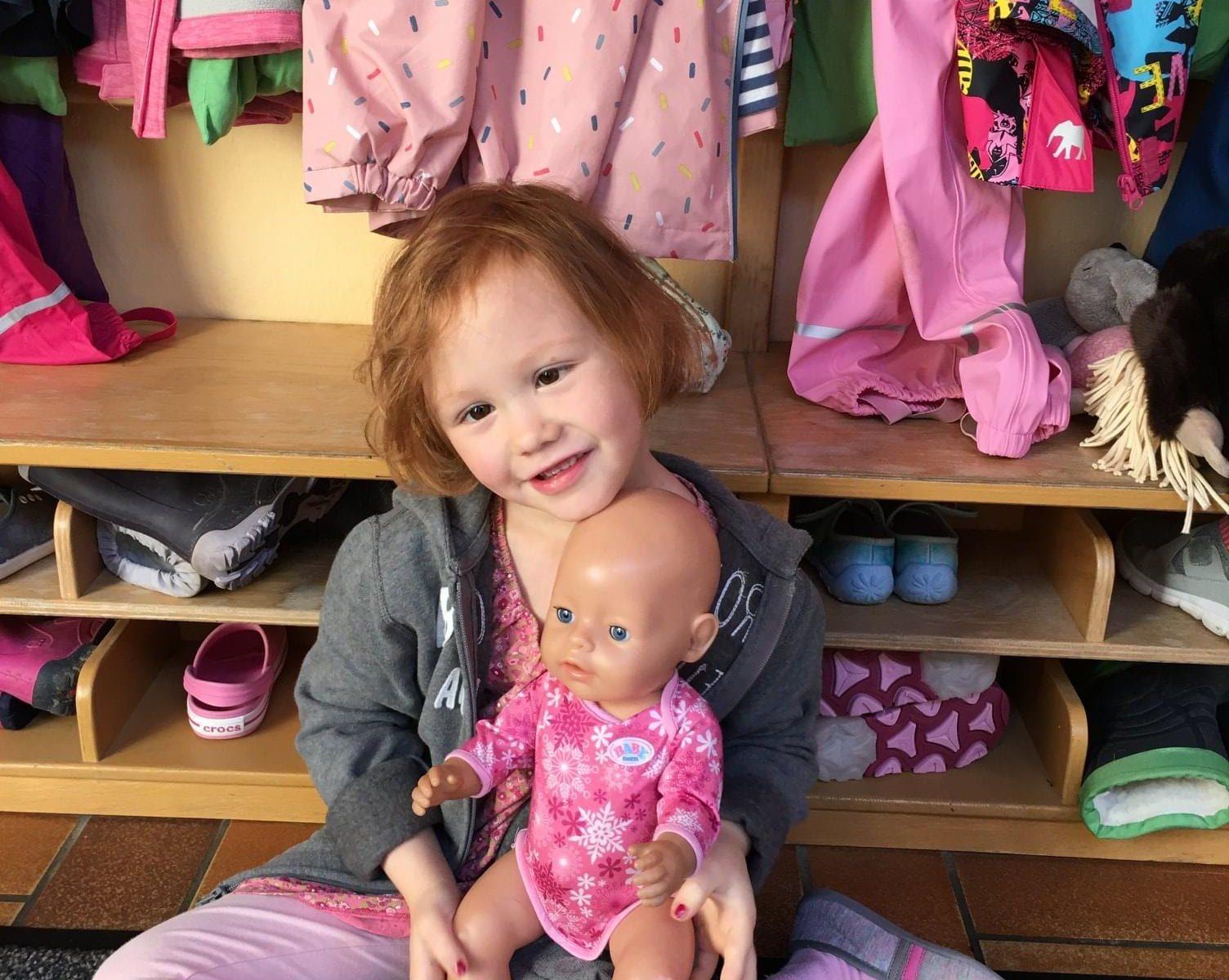 Emma im Kindergarten