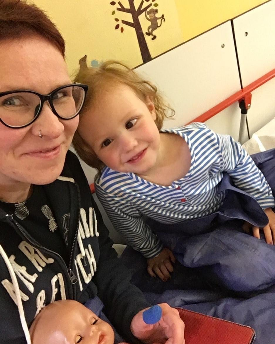 Emma im Krankenhaus