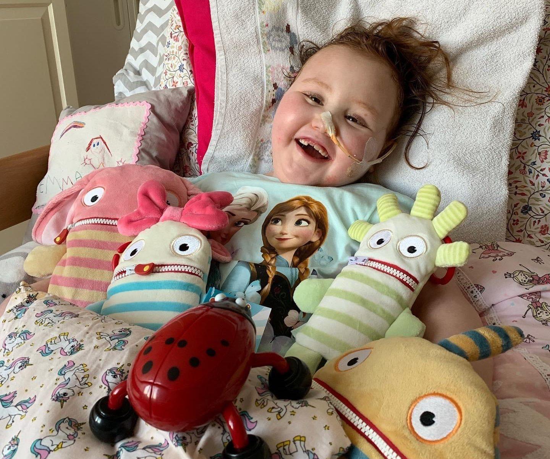 Emma im Bett