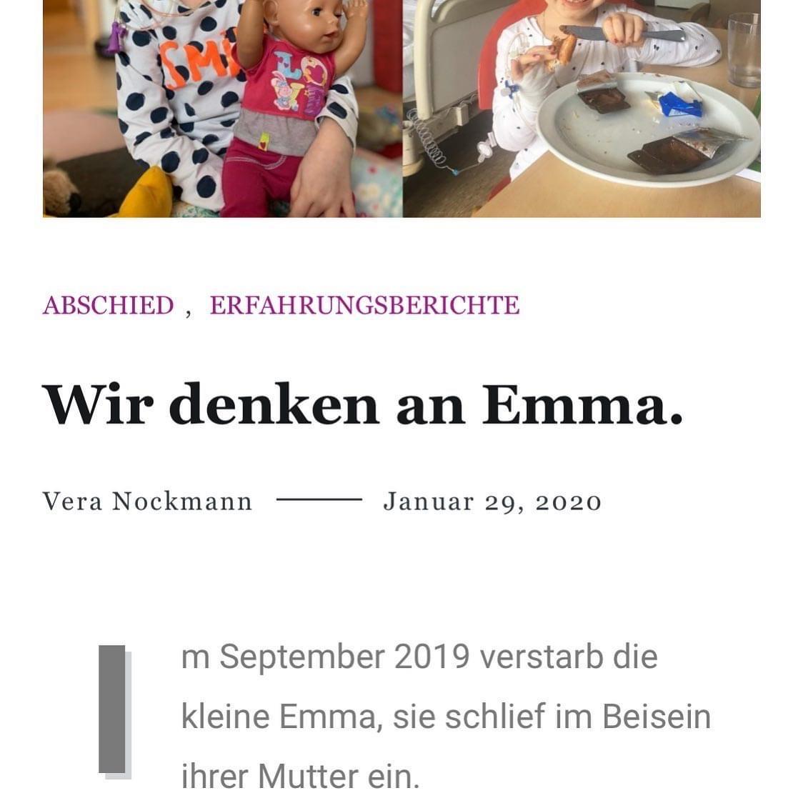 Bericht Emma Kleine Riesen