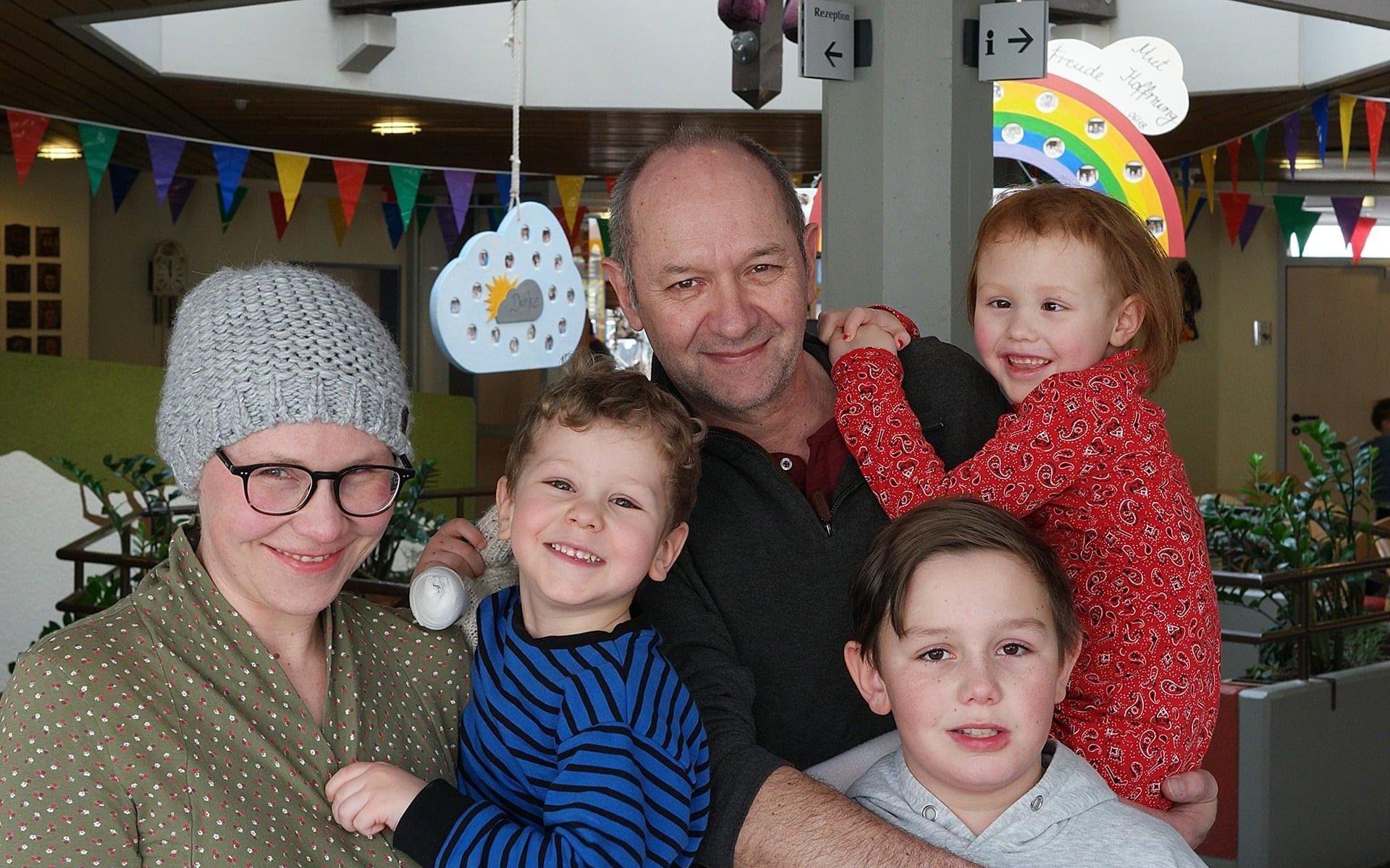 Familienfoto mit Emma