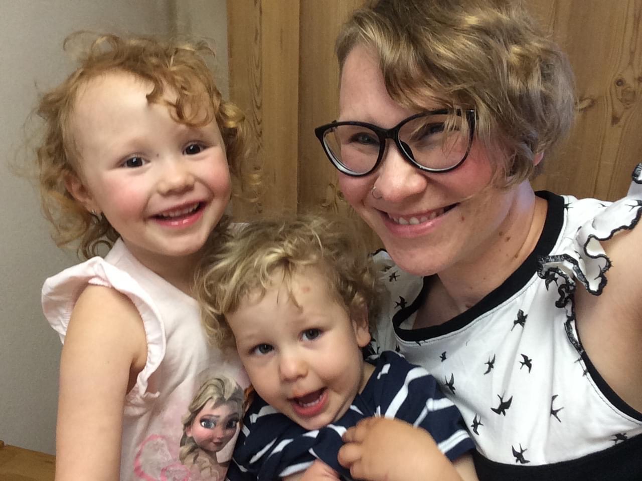Emma, Pius und Marion